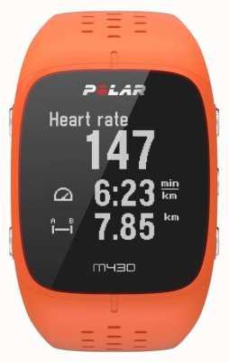 Polar Reloj deportivo de goma naranja M430 90064410