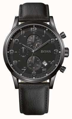 Hugo Boss Clásico con esfera redonda negra 1512567