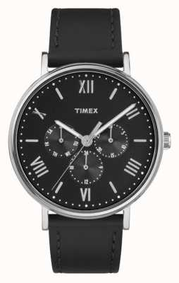 Timex Mens para hombre southview multifunción cronógrafo negro TW2R29000