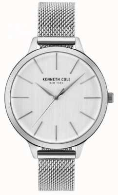 Kenneth Cole Pulsera de plata de acero inoxidable KC15056009