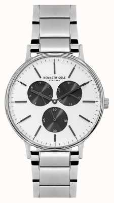 Kenneth Cole Reloj de pulsera de acero inoxidable para hombre KC14946007