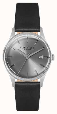 Kenneth Cole Womans 35mm caja de acero inoxidable plata KC15109004