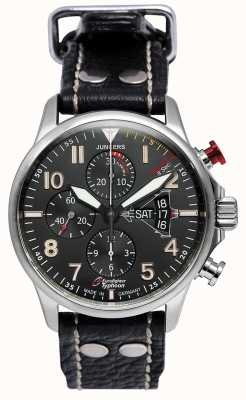 Junkers Mens junkers 3 eurofighter cronógrafo automático negro 6826-5