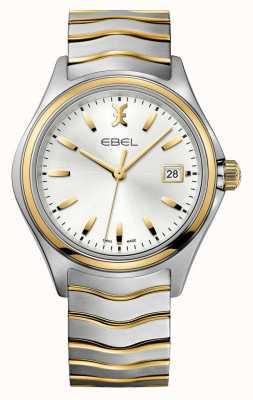 EBEL Reloj de oro de dos tonos para hombre Wave 1216202