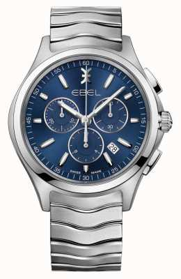EBEL Reloj de pulsera azul con reloj azul 1216344