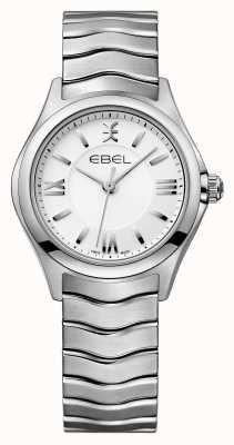 EBEL Reloj de acero inoxidable de las mujeres de la onda 1216374