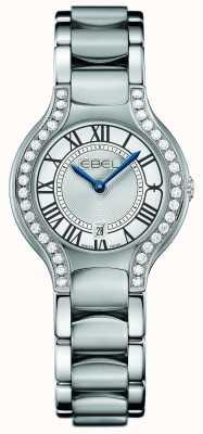 EBEL Womens beluga diamante acero inoxidable 1216069