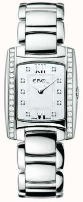 EBEL Acero inoxidable de diamante brasil mujer 1215607