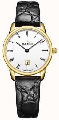Dreyfuss Reloj de mujer de correa de cuero 1980 de mujer DLS00136/01