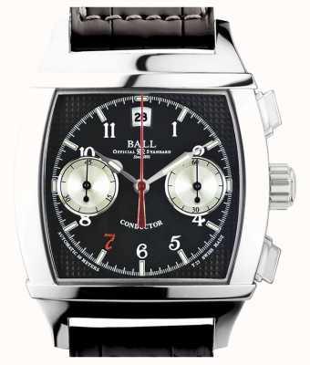 Ball Watch Company Vanderbilt black dial cronógrafo de edición limitada CM2068D-LJ-BK