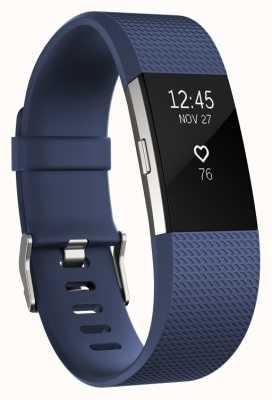 Fitbit Carga 2 - azul, pequeña FB407SBUS-EU
