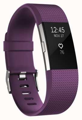 Fitbit Carga 2 - ciruela, pequeña FB407SPMS-EU