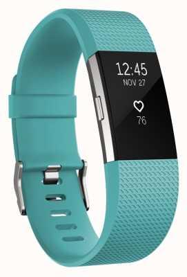 Fitbit Carga 2 - trullo, pequeño FB407STES-EU