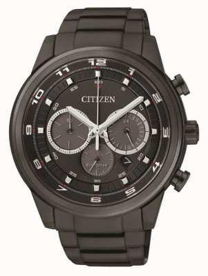 Citizen Negro de cronógrafo negro para hombre CA4035-57E