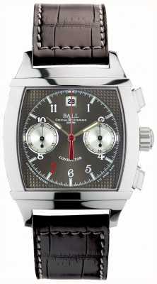 Ball Watch Company Vanderbilt cronómetro gris cronógrafo conductor de edición limitada CM2068D-LJ-GY