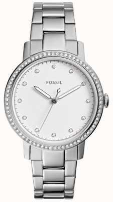 Fossil Señoras reloj de acero inoxidable ES4287