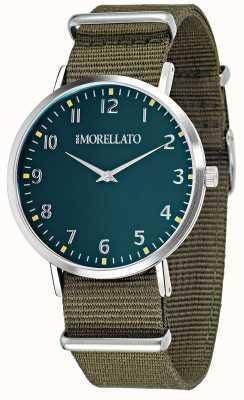 Morellato Reloj verde de la vela / reloj de la correa R0151134004