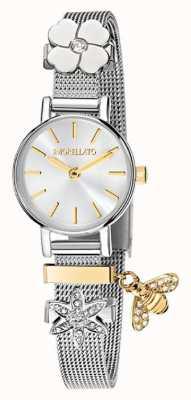 Morellato Reloj de pulsera de acero inoxidable tesori para mujer R0153122576