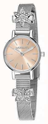 Morellato Reloj de pulsera de acero inoxidable tesori para mujer R0153122582