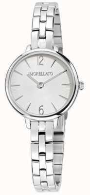 Morellato Reloj pequeño de acero inoxidable para mujer petra R0153140507