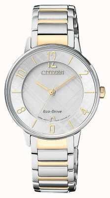 Citizen Reloj ecológico de dos tonos EM0524-83A