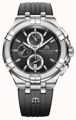 Maurice Lacroix Reloj para hombre cronógrafo aikon AI1018-SS001-330-2