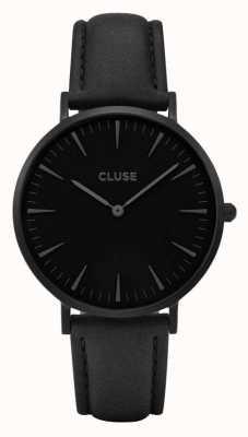 CLUSE La boheme caja negra con esfera negra / correa negra CL18501