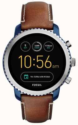 Fossil Para hombre deporte q explorist smartwatch FTW4004