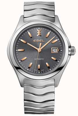 EBEL Reloj de ola de acero inoxidable de plata de tono 1216383