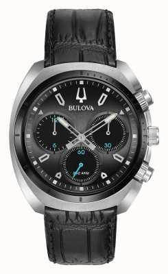 Bulova Mens sport curv cronógrafo negro 98A155