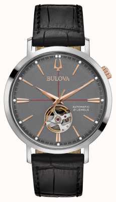 Bulova Gris automático clásico para hombre 98A187