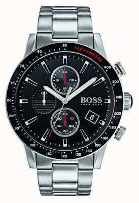 Hugo Boss Mens negro de cronógrafo rafale dial 1513509