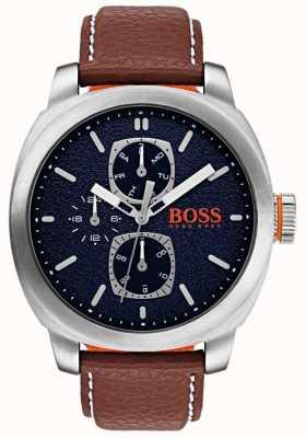 Hugo Boss Orange Hombres capetown reloj azul dial 1550027