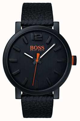 Hugo Boss Orange Reloj bilbao para hombre en negro 1550038