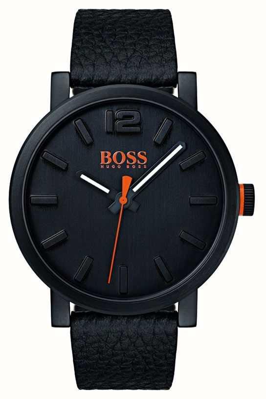 67efd39586c5 Hugo Boss Orange Reloj Bilbao Para Hombre En Negro 1550038 - First ...