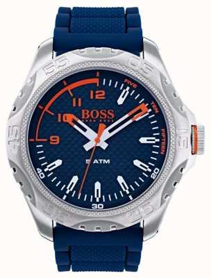 Hugo Boss Orange Reloj honolulu para hombre en goma azul 1550031