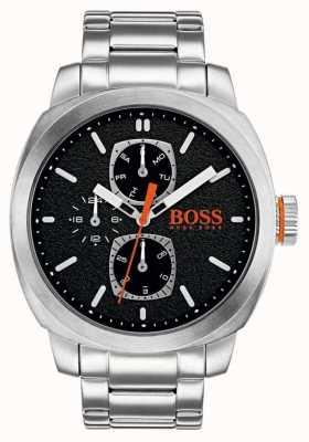 Hugo Boss Orange Reloj de hombre capetown reloj negro de acero inoxidable 1550029