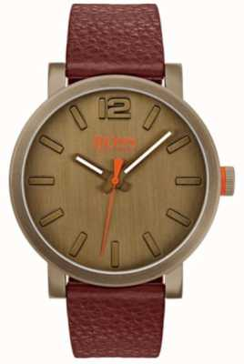 Hugo Boss Orange Mens bilbao reloj en marrón 1550036