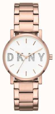 DKNY Pulsera en tono dorado de womans soho NY2654