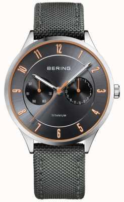 Bering Gris de nylon de titanio ultraligero para hombre 11539-879