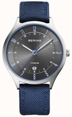 Bering Azul de nylon titanium ultraligero del Mens 11739-873