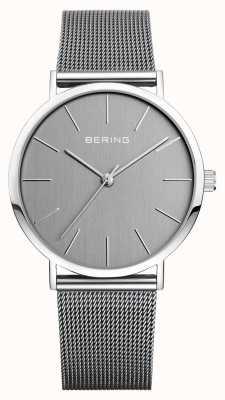 Bering Correa de plata milanesa para hombre 13436-309