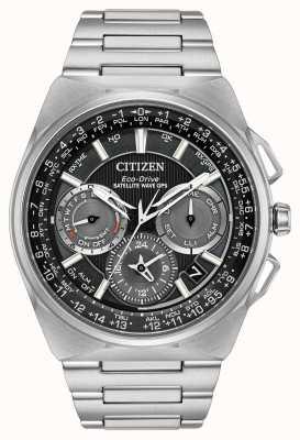 Citizen F900 satelital onda gps cronógrafo super titanio CC9008-50E