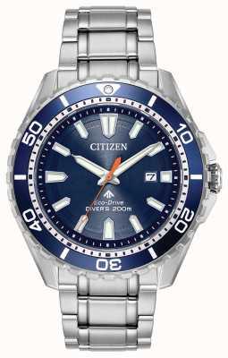 Citizen Eco-drive mens promaster divers fecha 200m BN0191-55L