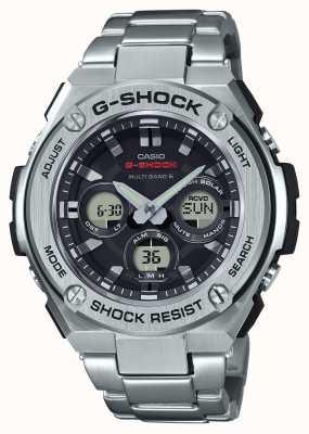 Casio Mens g-shock g-acero mediano de alarma chrono acero inoxidable GST-W310D-1AER
