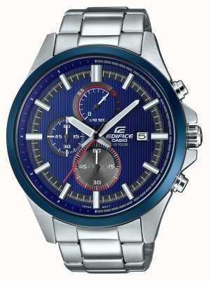 Casio Reloj de cronógrafo azul racing racing para hombre EFV-520RR-2AVUEF