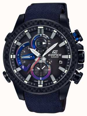 Casio Mens toro rosso bluetooth triple connect reloj EQB-800TR-1AER