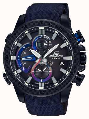 Casio Mens toro rosso bluetooth triple connect reloj EQB-800TR-1AER