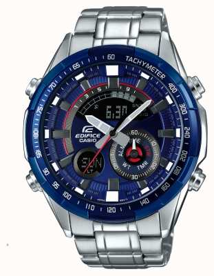 Casio Reloj de cronógrafo de alarma de serie azul carreras de hombre ERA-600RR-2AVUEF