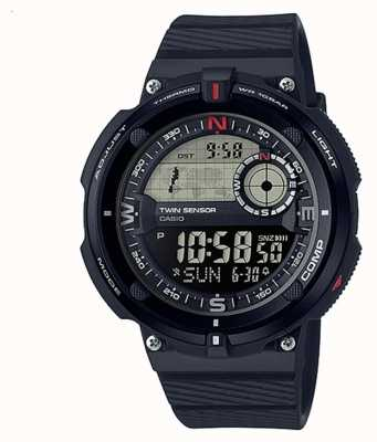 Casio Reloj clásico mundial de viajes para hombres SGW-600H-1BER
